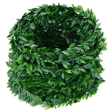 1 ramură Poliester Plante Flori Perete Flori artificiale