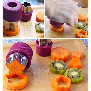 Bakeware eszközök Rozsamentes acél + A ragú ABS / Rozsdamentes acél / Rozsamentes acél / Vasaló Nem tapad / Sütés eszköz / Több funkciós Kenyér / Torta / Keksz süteményformákba 8db