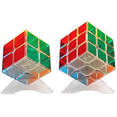 مكعب روبيك 2*2*2 3*3*3 السلس مكعب سرعة مكعبات سحرية مخفف الضغط لغز مكعب متضمن دليل المستخدم البلاستيك مستطيل مربع هدية