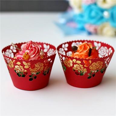 Cupcake csomagolópapírok Anyag 50 Esküvő