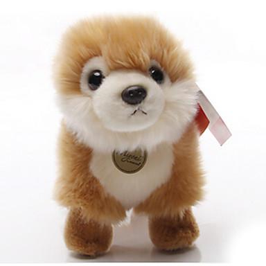 Kutyák Punjene i plišane igračke Kézzel készített / élethű / tettetés Plüss anyag Ajándék