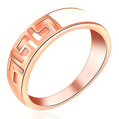 Damen Bandring Personalisiert Luxus Klassisch Grundlegend Sexy Liebe Elegant nette Art Modisch Aleación Geometrische Form Schmuck