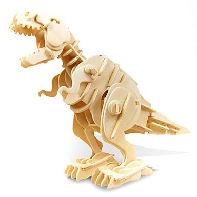 voordelige 3D-puzzels-3D-puzzels Modelbouwsets Tyrannosaurus Dinosaurus Met Geluidssensor Electrisch Puinen Kinderen Jongens Speeltjes Geschenk