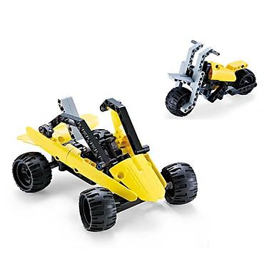 Bausteine Fahrzeug-Spiele nach Themen Spielzeug-Autos Bildungsspielsachen Spielzeuge Auto Motorrad Transformierbar Heimwerken Kinder