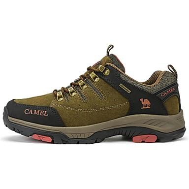 Herren Schuhe Leder Winter Komfort Sportschuhe Wandern Schnürsenkel Für Armeegrün Khaki