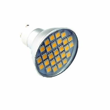 3 W 300 lm LED szpotlámpák 27 led SMD 5050 Dekoratív Hideg fehér AC 220