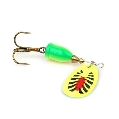 4 pcs Hard Bait Stainless Bait Casting / Spinning / Jigging Fishing / Freshwater Fishing / Carp Fishing / Lure Fishing / General Fishing