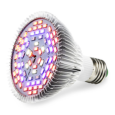 1pc 1290lm E27 Growing Light Bulb 78 Cuentas LED SMD 5730 Blanco Cálido UV (Luz Negra) Azul Rojo 85-265V