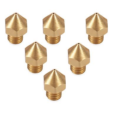 Anet 3d Druckerteil Extruder Messing Düsenkopf 6 sechs Größen 0.2mm / 0.3mm / 0.4mm