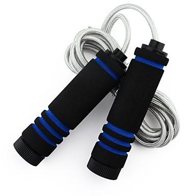 Springseil / Springseil Übung & Fitness Springen Langlebig Hilft beim Abnehmen Geflochtener Stoff-
