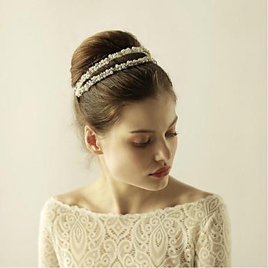 imitation perle strass legierung stirnbänder kopfschmuck eleganten stil