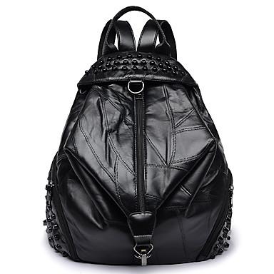the best attitude 90cb6 d0979 Women s Bags PU(Polyurethane) Backpack Zipper Black   Red