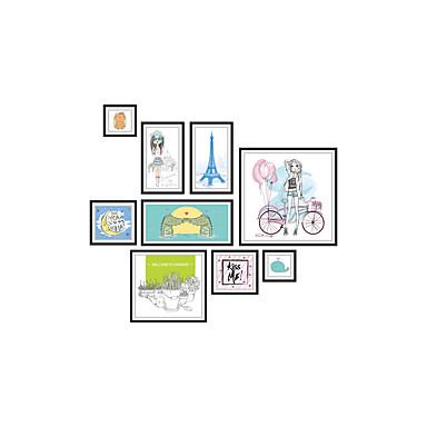 Dekoratív falmatricák - Repülőgép matricák Emberek / Divat / Építészet Nappali szoba / Hálószoba / Fürdőszoba