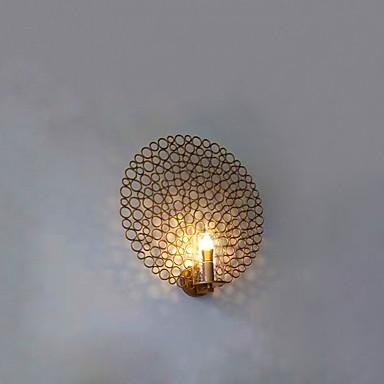 بسيط / LED / الحديثة / المعاصرة مصابيح الحائط معدن إضاءة الحائط 110-120V / 220-240V 3 W / E14 / E12