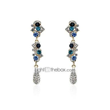 Női Arannyal bevont Függők - Csing Csing / Divat Kék Fülbevaló Kompatibilitás Ajándék / Napi / Hétköznapi
