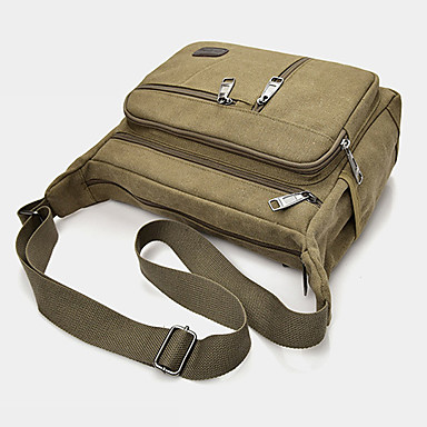 a54b07b4bc9 Daypack Shoulder Messenger Bag 10-20 L - Camping   Hiking Adjustable    Retractable Anti-Slip Wearproof Outdoor Casual Traveling Outdoor Canvas  Black Coffee ...