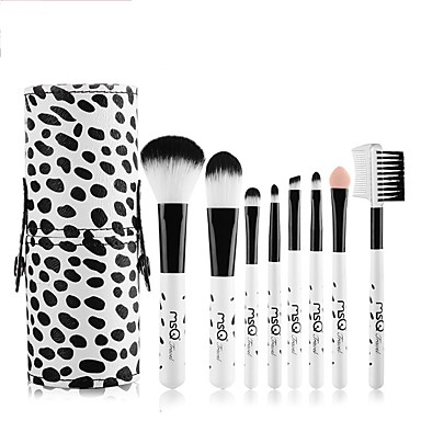 1set Makeup Brushes Professional Makeup Brush Set Synthetic Hair Cute / Easy to Carry / Easy Carrying Wood