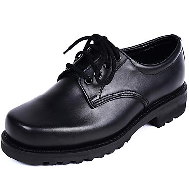 Men's Formal Shoes Cowhide Fall / Winter Oxfords Black / Party & Evening