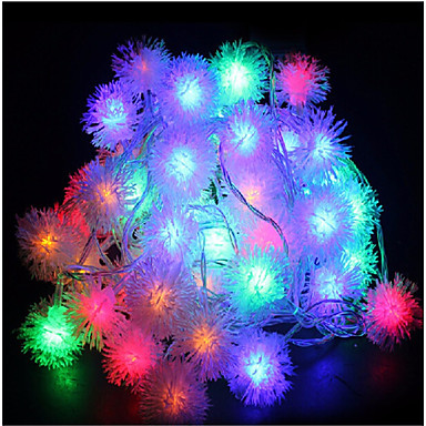 10M 60LED RGB Holiday String Light Wedding Party Decorating Curtain Light 220V