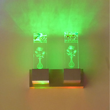 2 integrierte LED LED Neuheit Eigenschaft for Ministil,Ambientelicht Wandleuchte