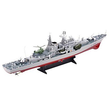 RC Hajó HT-2879 Hajómodell Távirányító hajó Hadihajó Műanyag ABS 4 Csatornák 6 KM / H Szuper nagy méret