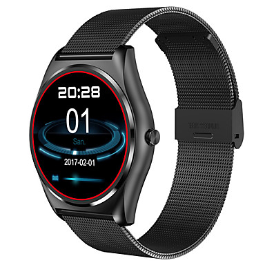 Intelligens Watch iOS Android iPhone Szívritmus monitorizálás Vízálló Lépésszámlálók Egészségügy Távolságmérés Üzenet kontroll vékony