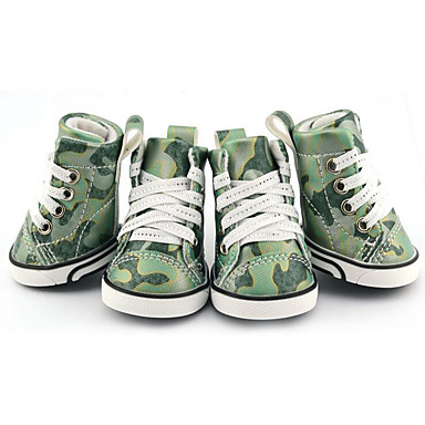 Hund Schuhe und Stiefel Lässig / Alltäglich / Wasserdicht Einfarbig Für Haustiere