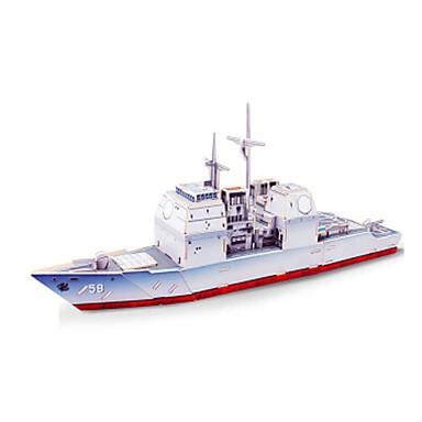 voordelige 3D-puzzels-3D-puzzels Legpuzzel Modelbouwsets Oorlogsschip Schip DHZ Puinen Klassiek Kinderen Unisex Speeltjes Geschenk
