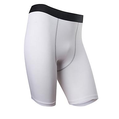 Férfi Kratke hlače za trčanje Elasztikus, Futás, Alkalmi Rövidnadrágok / Alsók Országúti biciklizés / Fitnessz / Futás Terylene Fehér /