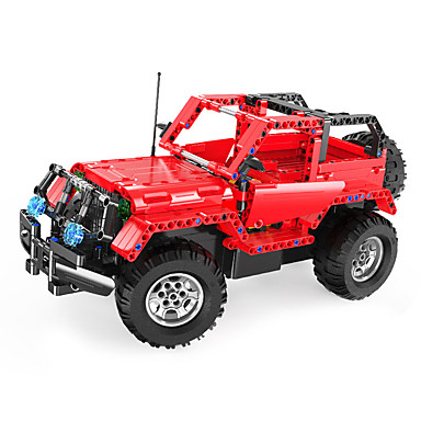 Remote Control RC Building Block Kit Building Blocks Educational Toy 531 pcs Car Remote Control / RC DIY Remote Control Toy Boys' Girls' Toy Gift