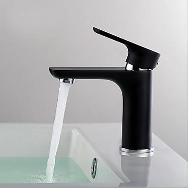 Moderne Moderner Stil Mittellage Gute Qualität Keramisches Ventil Einhand Ein Loch Korrektur Artikel, Waschbecken Wasserhahn