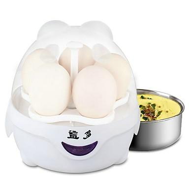 Eierkocher Single EggboilersMultifunktion Kreativ Aufrechtes Design Licht und Bequem Ministil Geräuscharm Licht-Spannungsanzeige Leichtes