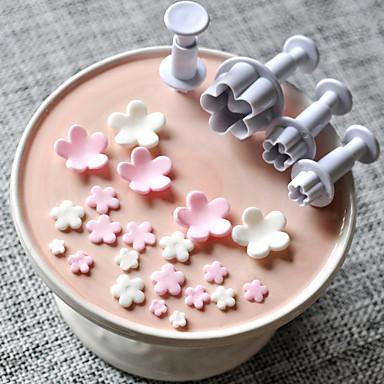 Bakeware tools Plastics Baking Tool Everyday Use Cake Molds 1set