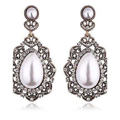 Damen Ohrstecker Imitierte Perlen Modisch individualisiert überdimensional Aleación Tropfen Schmuck Für Bühne Festtage Ausgehen