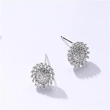 Damen Ohrstecker Kubikzirkonia Modisch Simple Style Aleación Geometrische Form Schmuck Für Hochzeit Sonstiges Alltag Normal Formal
