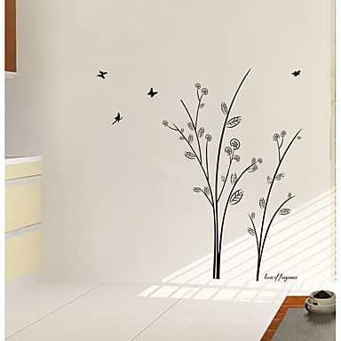 كلمات ومصطلحات رومانسية أزياء ملصقات الحائط لواصق حائط الطائرة لواصق حائط مزخرفة مادة تصميم ديكور المنزل جدار مائي