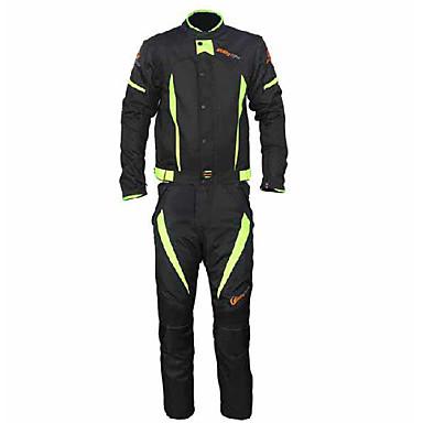 RidingTribe Jacke Hosen Set Oxford Alles Sommer Beste Qualität Gute Qualität Motorrad Nierengurte