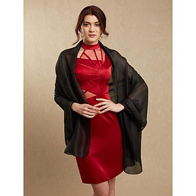 Leinenhochzeit / Abendfrauen wickeln elegante Art der Schal