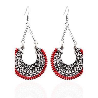 Women's Drop Earrings / Hoop Earrings - Bohemian White / Black / Wine For Party / Daily / Casual