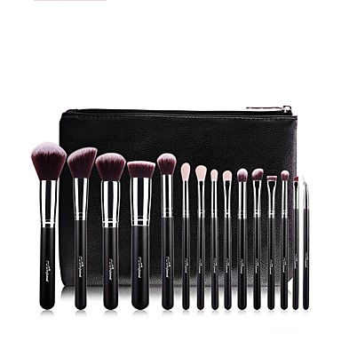 1 set Makeup Brushes Professional Makeup Brush Set Artificial Fibre Brush Multi-function / Easy to Carry / Easy Carrying Aluminium / Wood