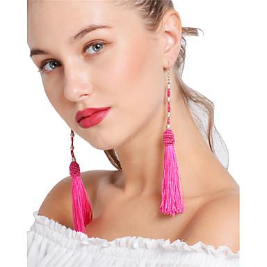 Női Bojt / Többrétegű Golyó Függők / Francia kapcsos fülbevalók - Bojt / Szexi / Többrétegű Piros / Zöld / Bor Fülbevaló Kompatibilitás