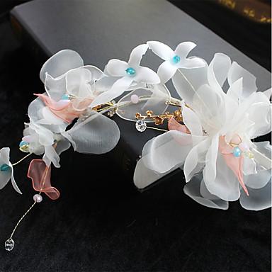 Tüll Chiffon Spitze Stoff Seide Netz Blumen Haarclip Kopfschmuck