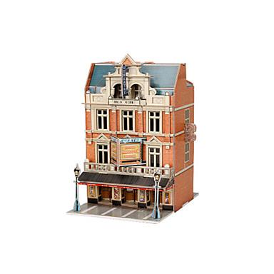3D építőjátékok Fejtörő Papírmodell Népszerű épület Lakberendezési cikkek hungarocell EPS+EPU Uniszex Ajándék