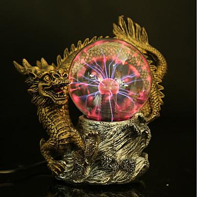 plazma gömb elektrosztatikus gömb fény mágikus kristály lámpa golyó asztali villám párt érintésre érzékeny fények