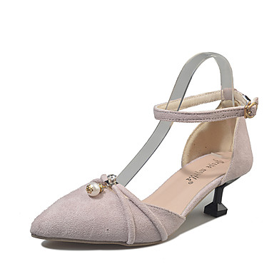 Damen Sandalen Komfort Sommer Gummi Walking Schnalle Block Ferse Schwarz Rosa Unter 2,5 cm