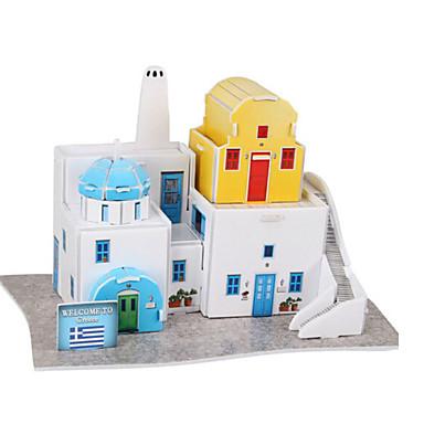 3D - Puzzle Holzpuzzle Papiermodel Berühmte Gebäude Architektur 3D Naturholz Romantisch Unisex Geschenk