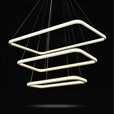 Pendant Light Ambient Light - Bulb Included, Adjustable, 110-120V / 220-240V, Warm White / Cold White, LED Light Source Included / 10-15㎡