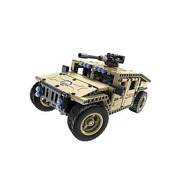 Távirányítós játékok / Játékautók / Építőkockák Tank / Harcos Távirányító / DIY SUV Fiú Ajándék