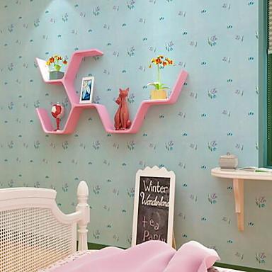 Cartoon Design Tapete Für Privatanwender Wandverkleidung , PVC/Vinyl Stoff Selbstklebend Tapete , Zimmerwandbespannung