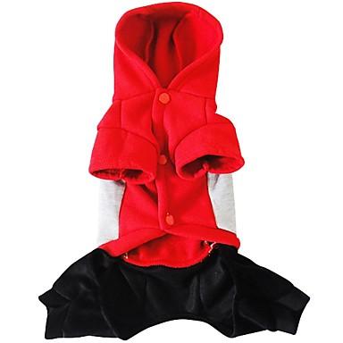 Hund Kostüme Hundekleidung Cosplay Buchstabe & Nummer Rot